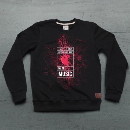 95 BPM Sweatshirt - Siyah