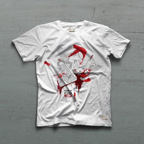 Butcher Tshirt - Beyaz