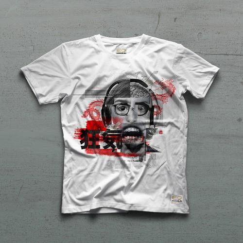 Madness Tshirt - Beyaz