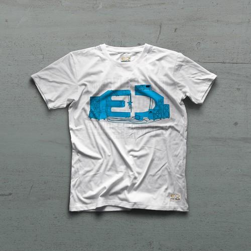 System Tshirt - Beyaz