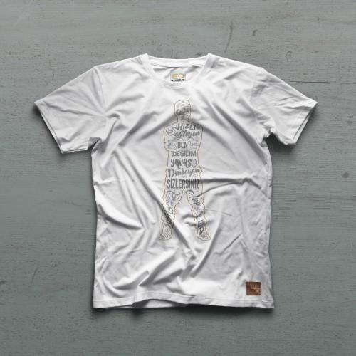 SusPus II Tshirt - Beyaz