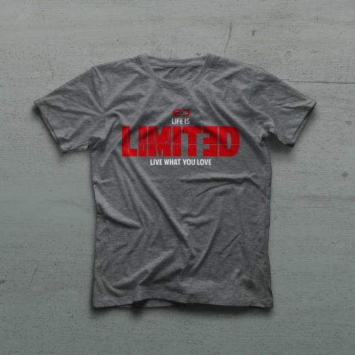 Life Tshirt - Antrasit